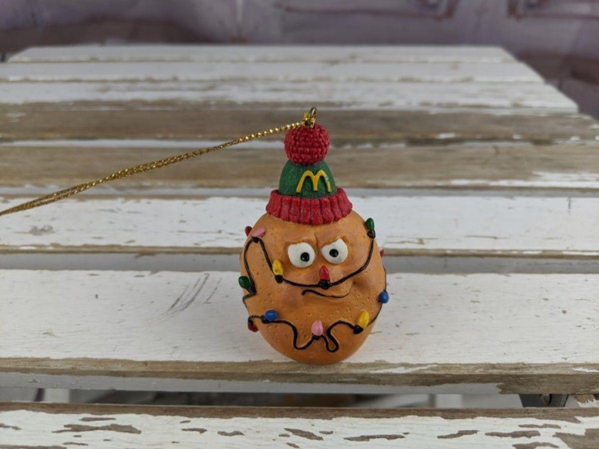 Mcnugget Christmas Ornaments 2020 McDonalds chicken mcnugget ornament 1996 in 2020 | Mcdonalds