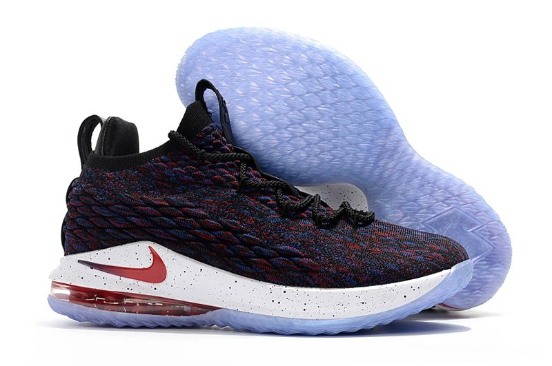 "504df03181b37 2018 All-Star Nike LeBron 15 Low ""Supernova"" Multicolor University  Red-Black-White"