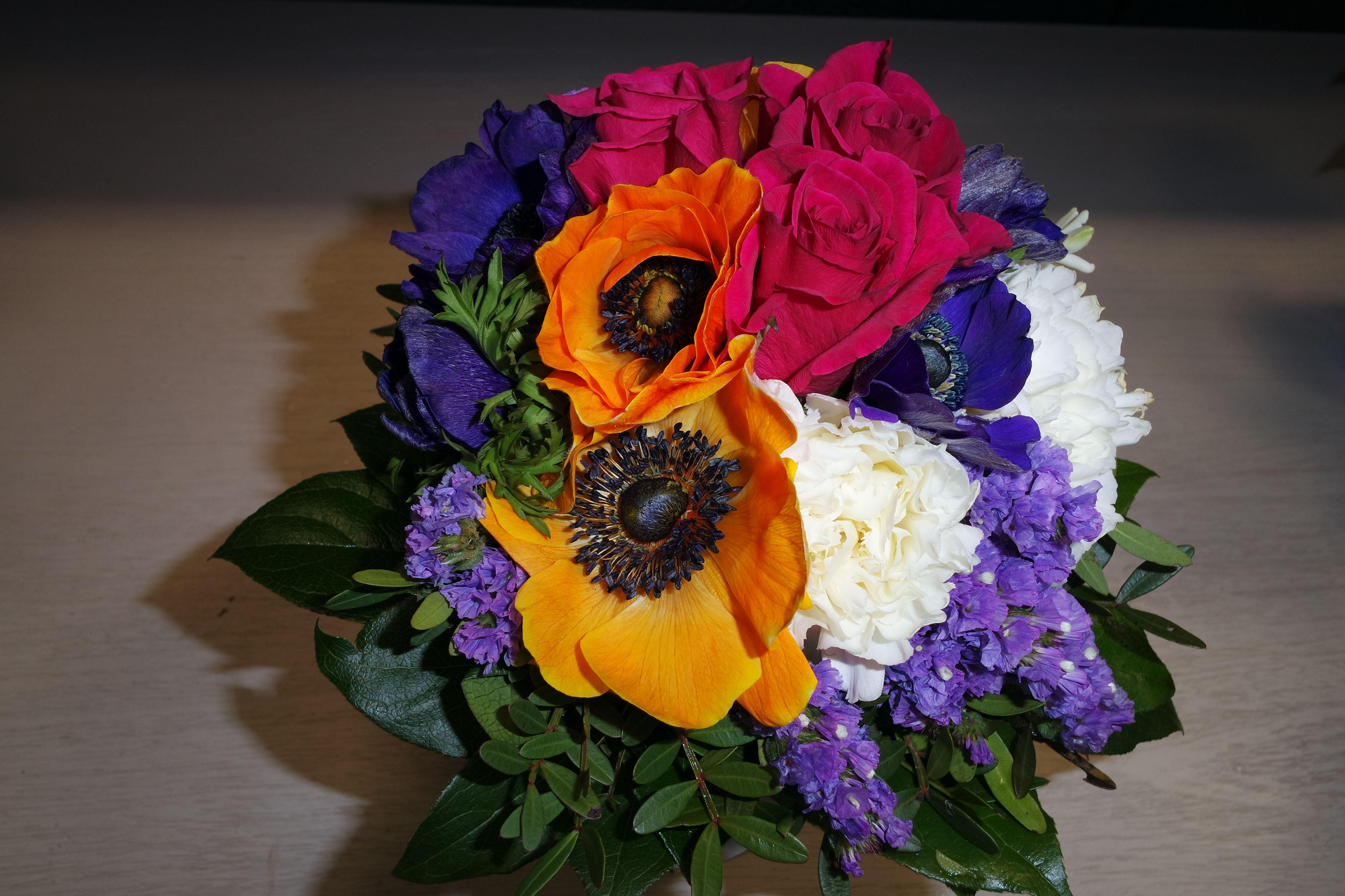 ...bei der Blume