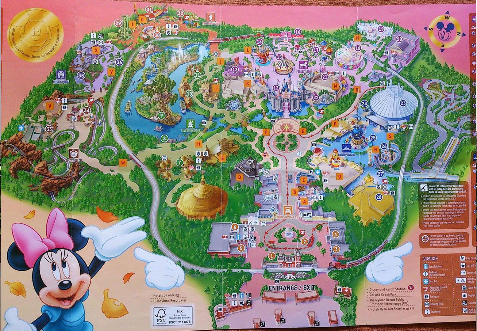 Map Of Canadas Wonderland 2017.Hong Kong Disneyland Map Hong Kong In 2019 Hong Kong Disneyland