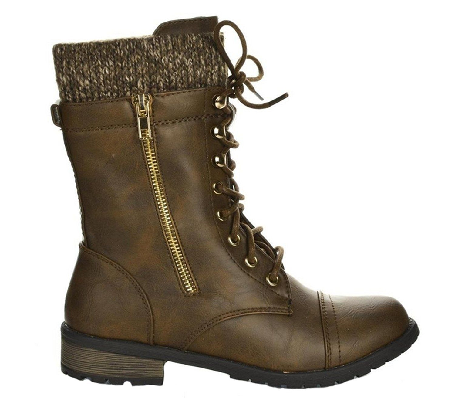 Womens Parksville Cuffed Ankle Boot