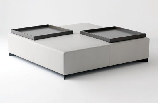 Galet Ottoman by French architect Christian Liaigre _