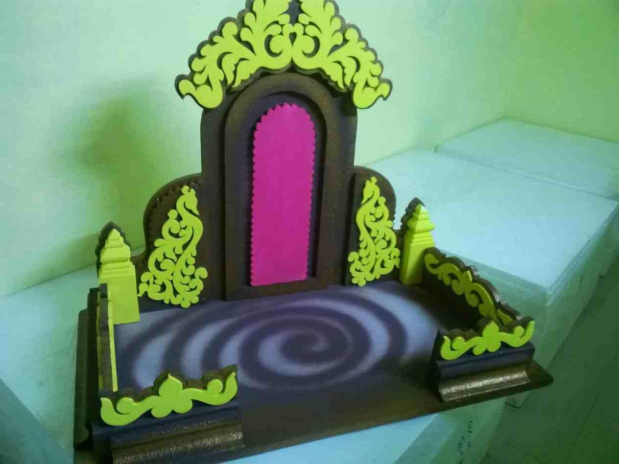 New Post Thermocol Ganpati Simple Decoration Ideas At Home Visit Bobayule Trending Decors