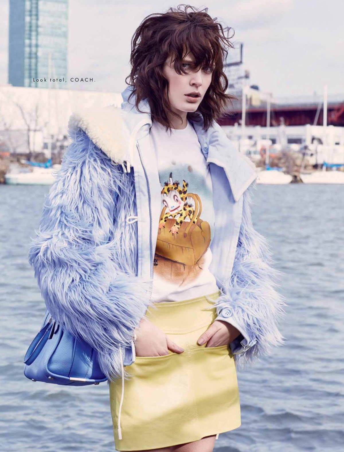 Zlata Mangafic by Santiago Ruisenor for Elle Mexico March 2015