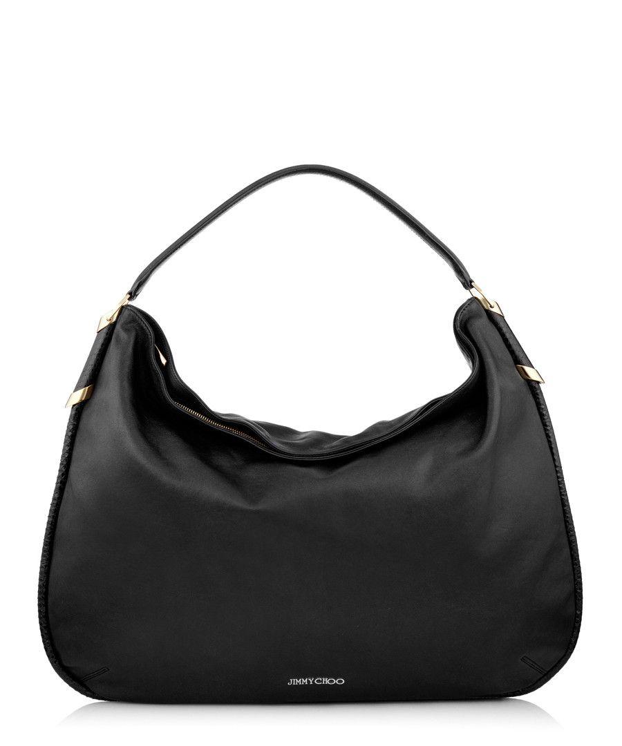 af6e925e425 Zoe black leather slouchy shoulder bag Sale - Jimmy Choo | Gift list ...