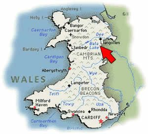 Map Of Wales P South Wales UK Pinterest Wales Wales Uk - Where is wales