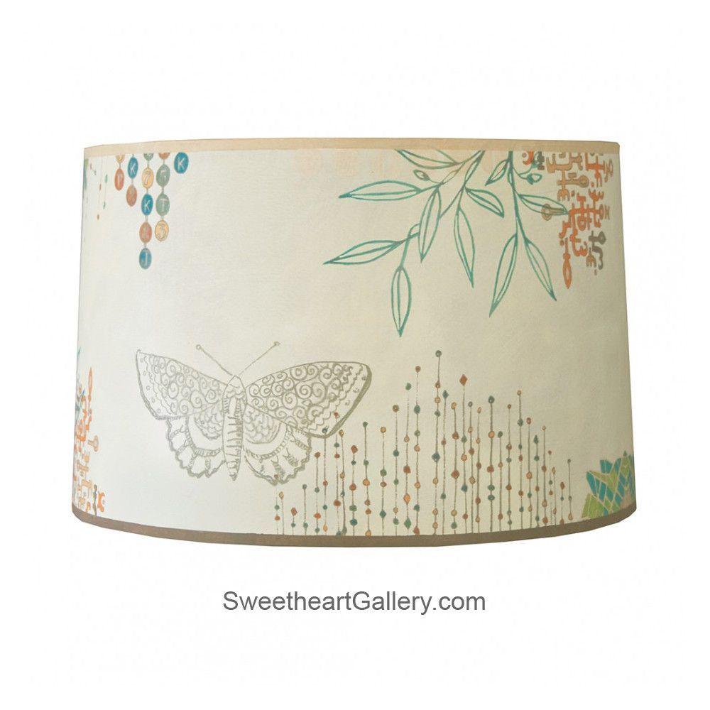 Large Drum Lamp Shade In Ecru Journey Sh825p Joe By Ugone