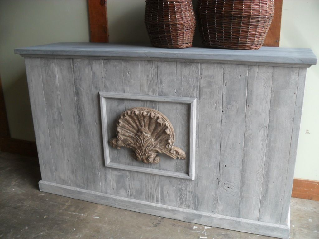 Great Store Counter With A Great Look, This Is What Country Is All About.  Made From Reclaimed Wood, Custom Made And Can Be Made Any Colour And Size,  ...