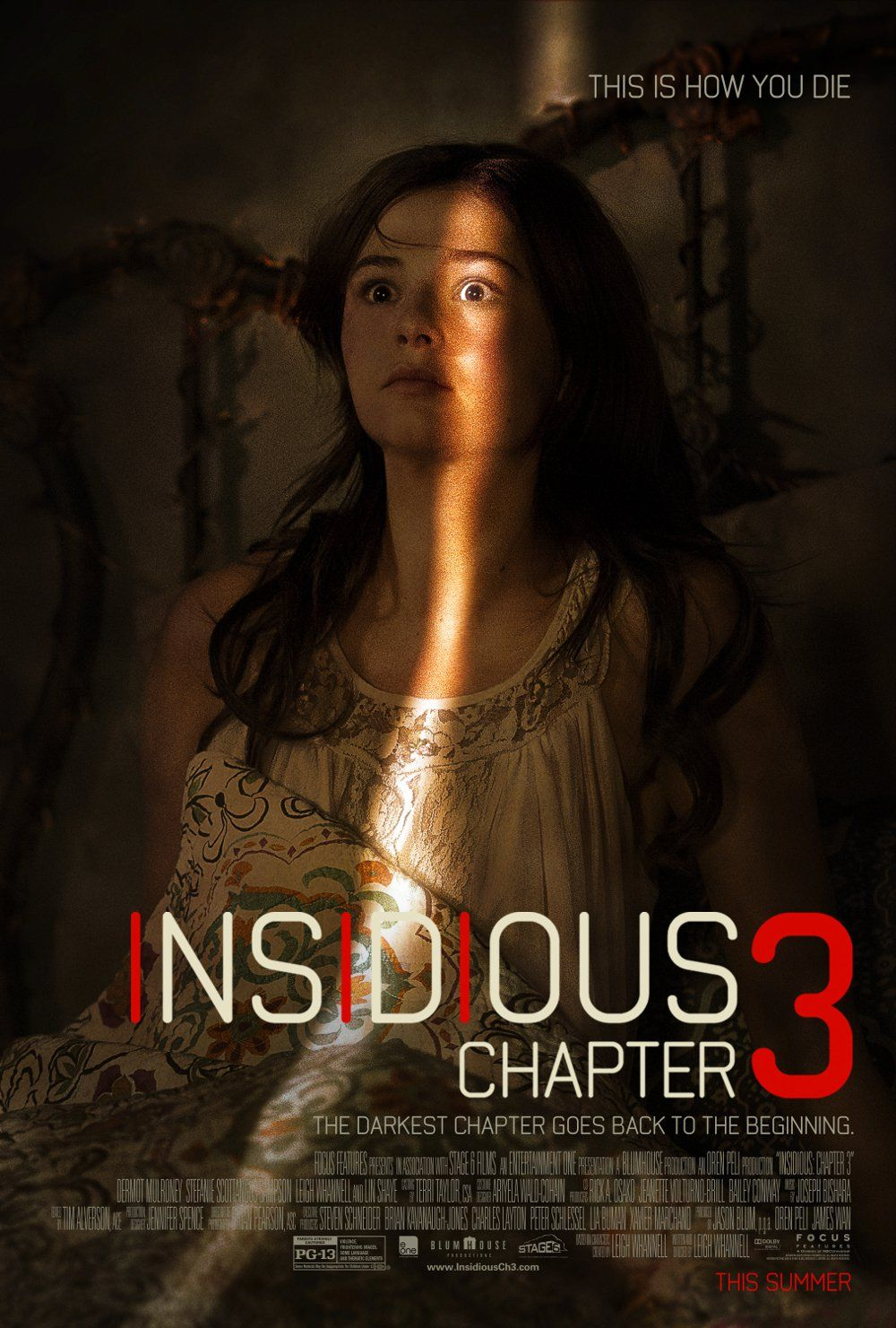 New Movie Poster For Insidious Chapter 3 With Terrified