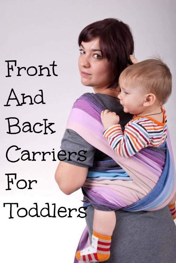 Stylish Comfortable Front And Back Carriers For Toddlers Awesome