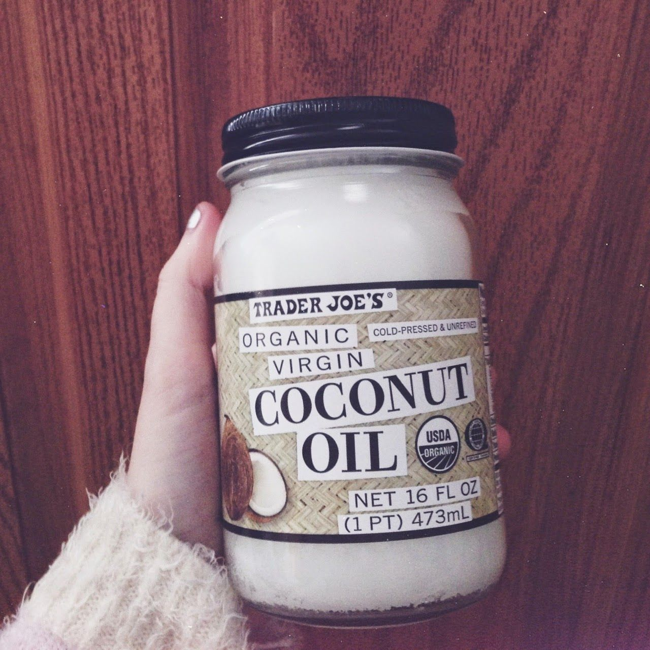 a coconut oil hair mask featuring cayenne pepper pink. Black Bedroom Furniture Sets. Home Design Ideas