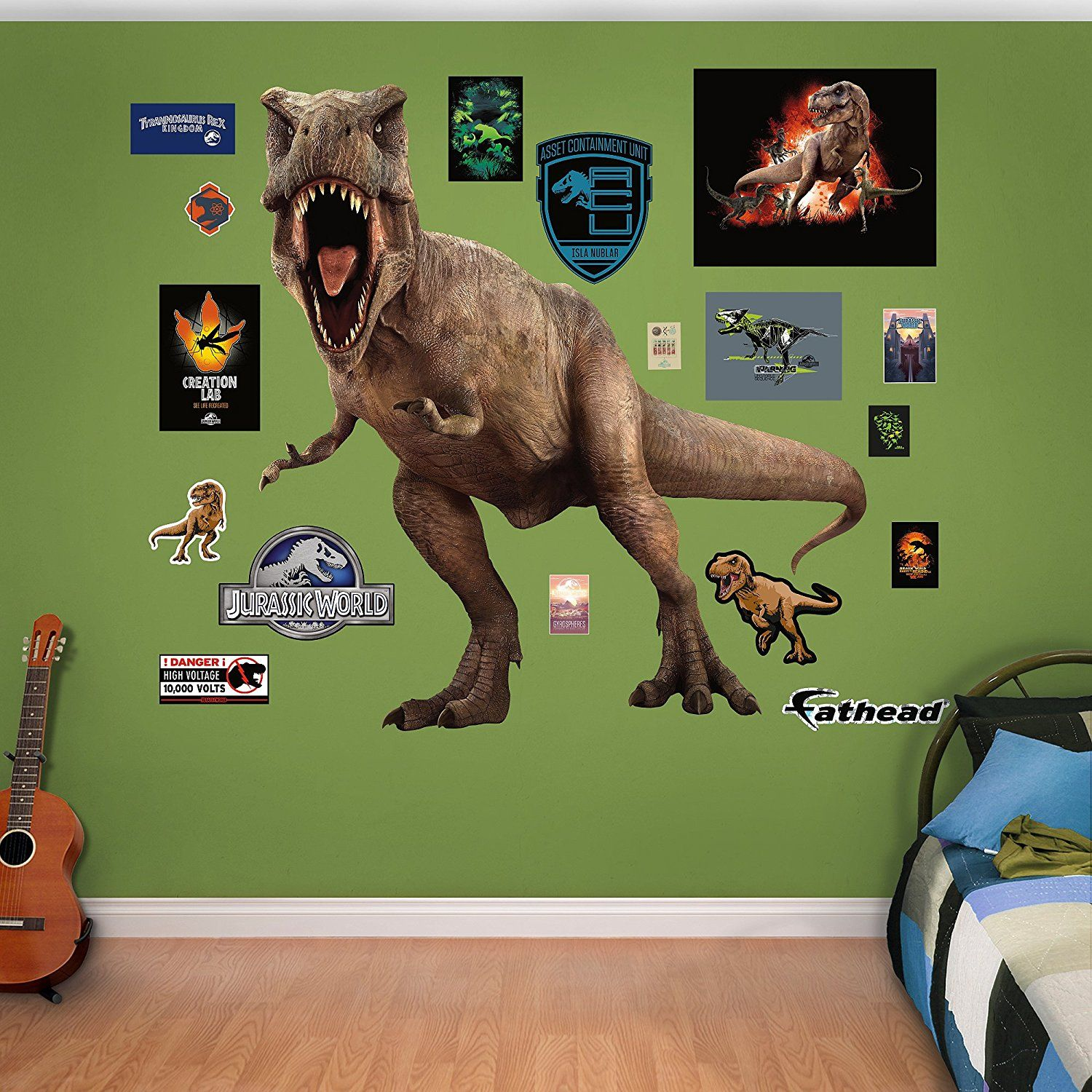 Fathead T Rex Jurassic World Real Decals Instant Discounts