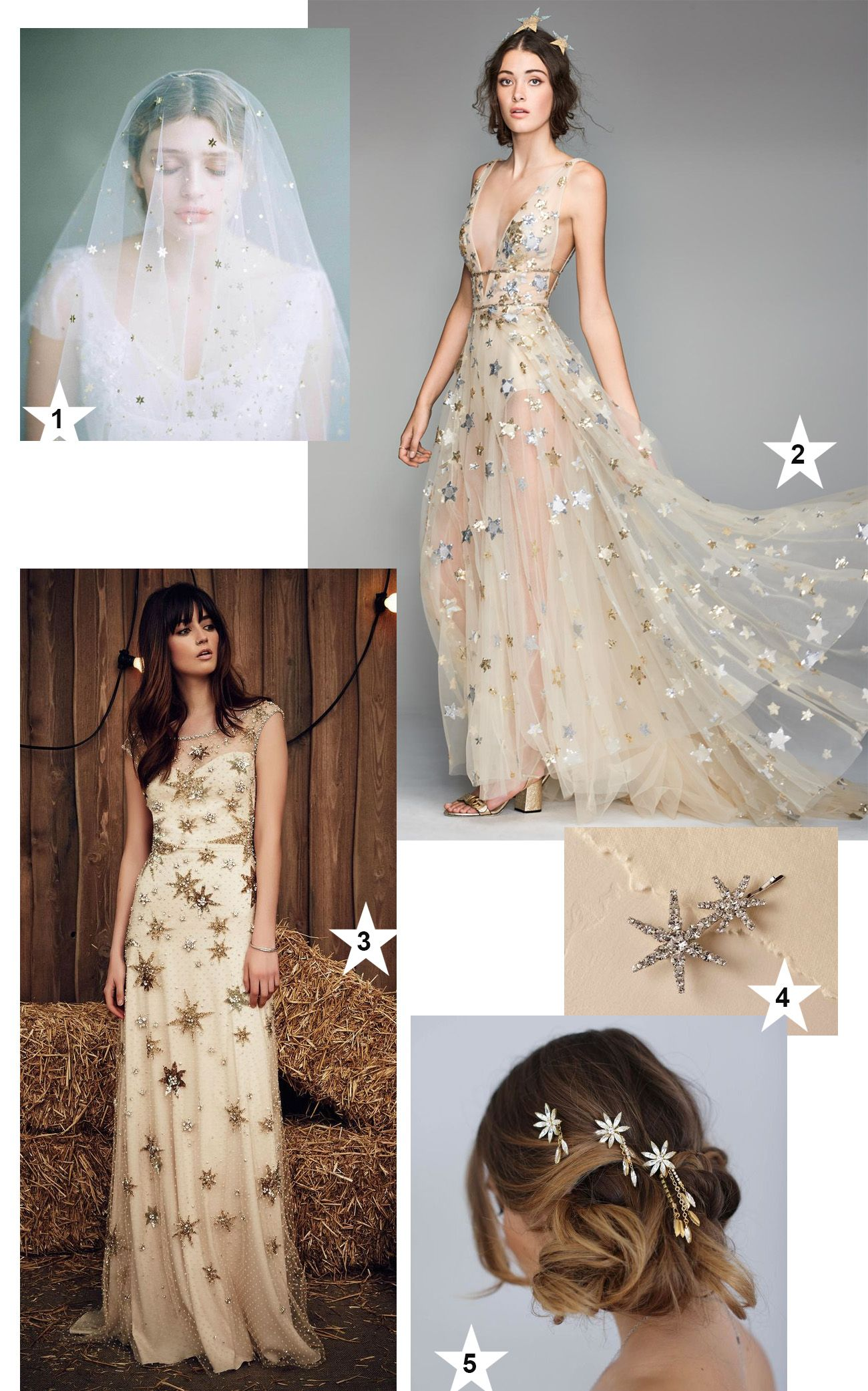 c69510c3280d Trending Now: Seeing Stars! | WEDDING DRESS IDEAS + INSPIRATION ...