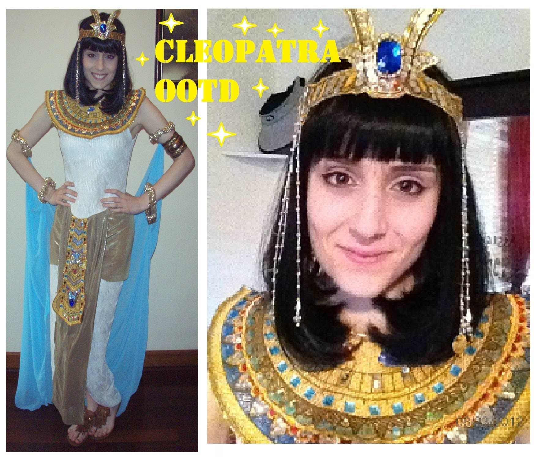 Home gt gt cleopatra costumes gt gt jewel of the nile egyptian adult - Easy Cleopatra Costume Make Up Ootd Outfit Of The Day Liz Taylor Cleo Costume Pinterest