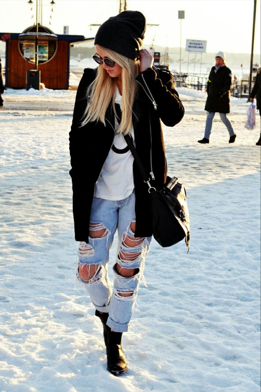 Winter Hippie Clothing Tumblr Images