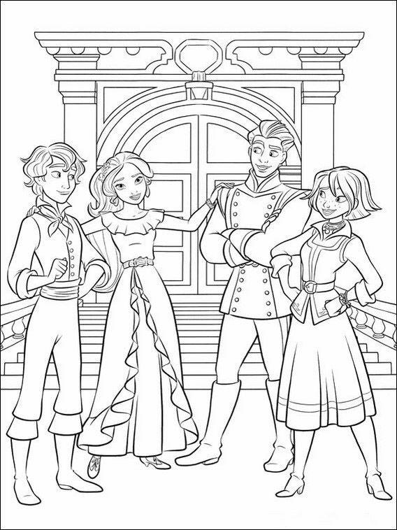 Dibujos para Colorear Elena de Avalor 19 | Disney | Pinterest ...