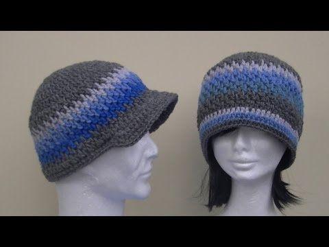 Brick Stitch Hat Crochet Tutorial Youtube Crochet Hat Tutorial Crochet Hats Crochet Tutorial Pattern