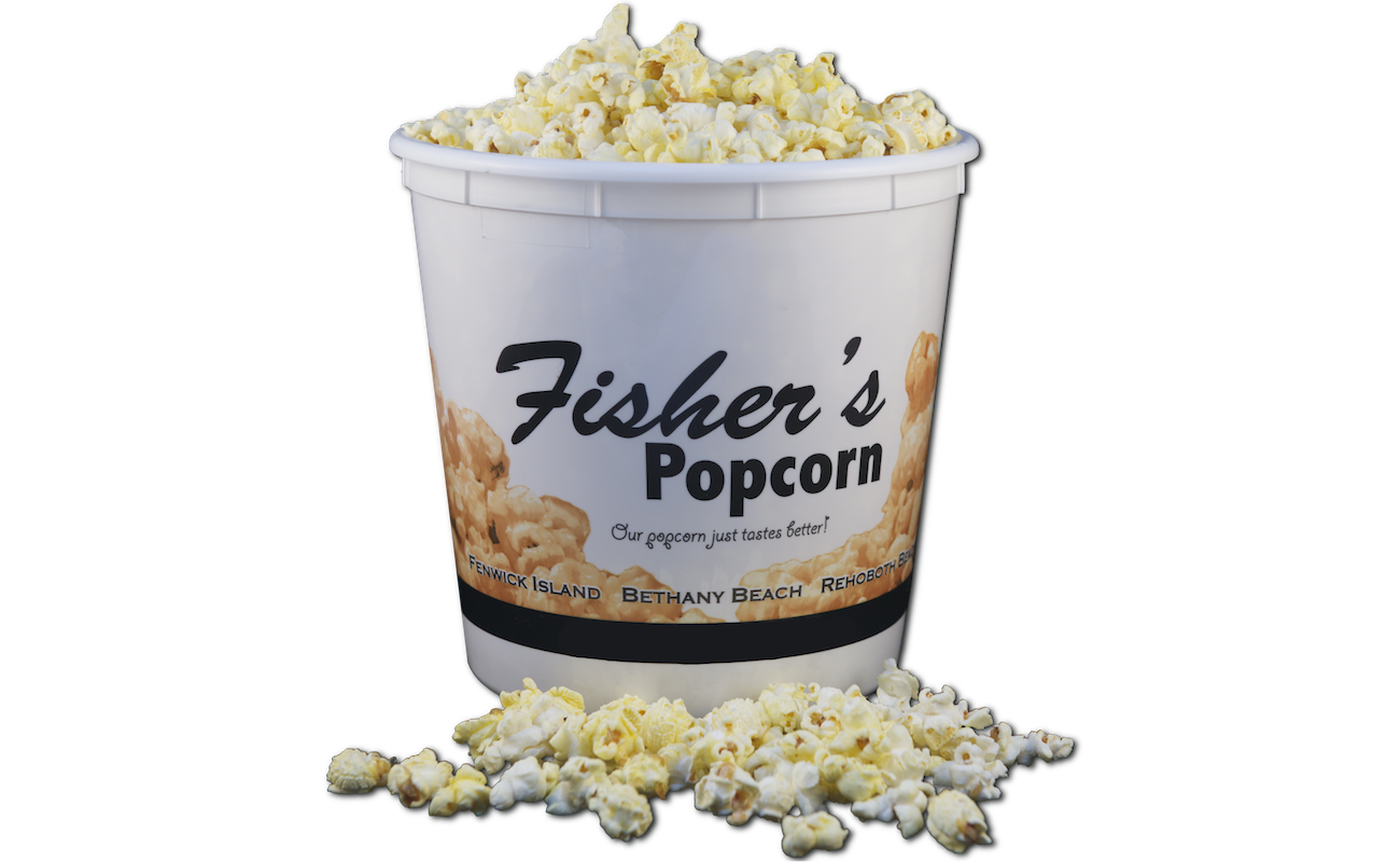 Fisher's Popcorn | Butter Flavored Popcorn