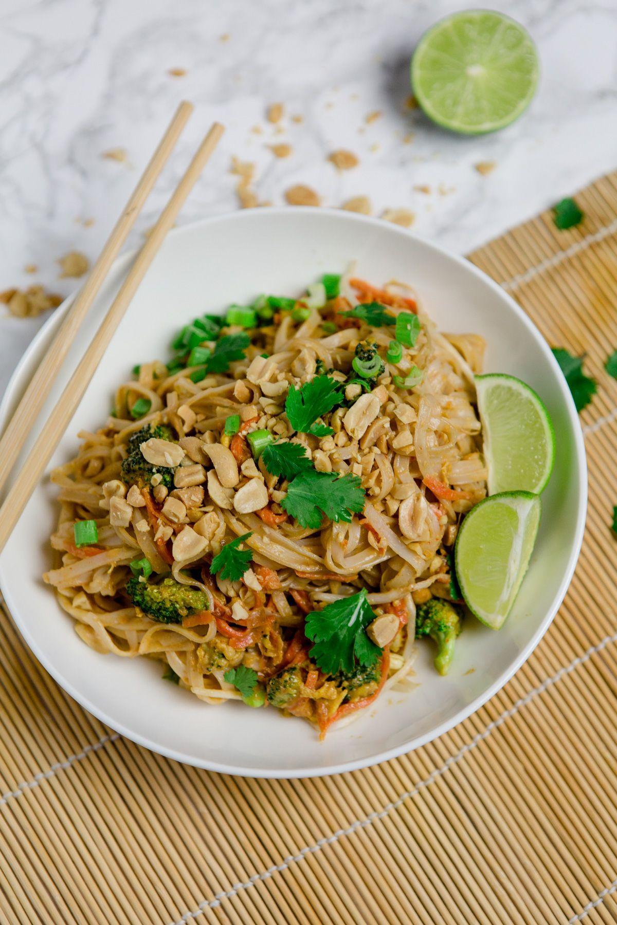 Vegetarisches Pad Thai - schnell und einfach mit WOW-Effekt