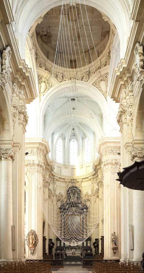 ✕ Virtual Dome (Leuven, Belgium) / #architecture #interior #art