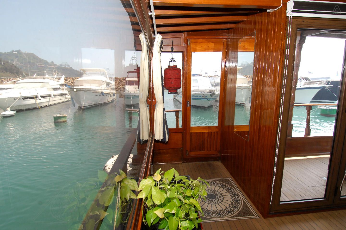 Check out this awesome listing on Airbnb: Boat Chinese Wood-1 : Front Cabin in Wong Chuk Hang