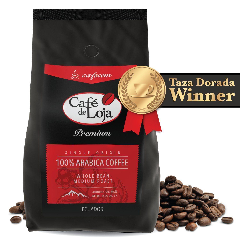 Medium / Dark Roast AWARD WINNER (2.2 lbs) Whole Bean