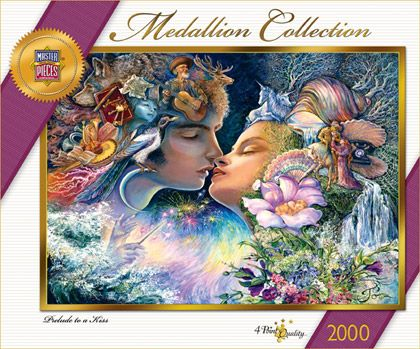 Prelude To A Kiss 2000 Piece Collector Puzzle. MEDALLION ...