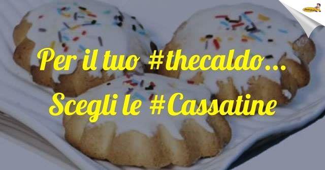 """Biscotti Paolo Forti riesce sempre a stupirti!!  Anche con questo freddo!!  Una tazza di the e delle buone """"Cassatine"""" ti riscalderanno ;) ;) #dolciconsigli #passionebiscotto"""