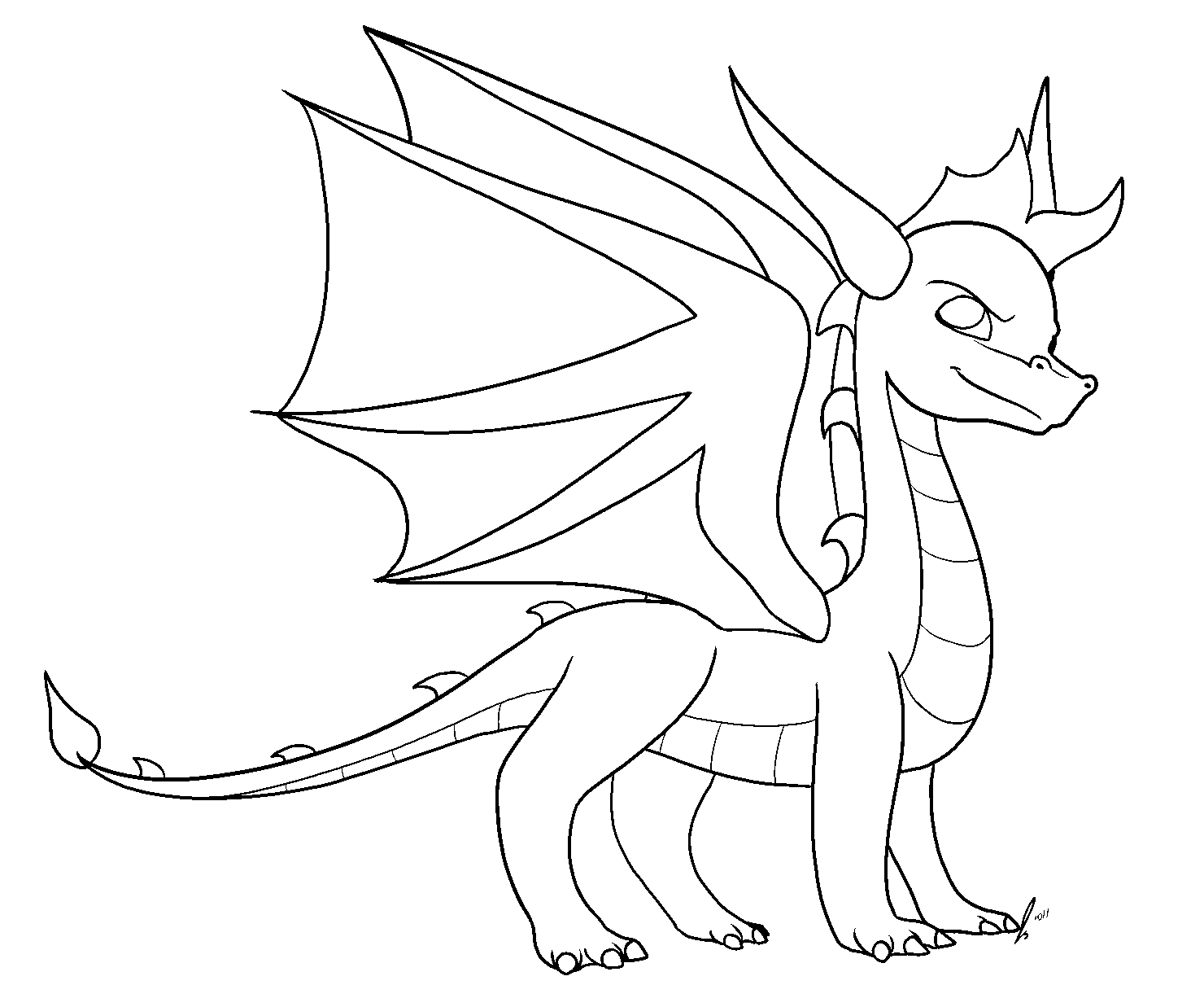 Free Dragon Base By Jaclynonacloud On Deviantart Dragon Base Dragon Coloring Page Cute Dragons