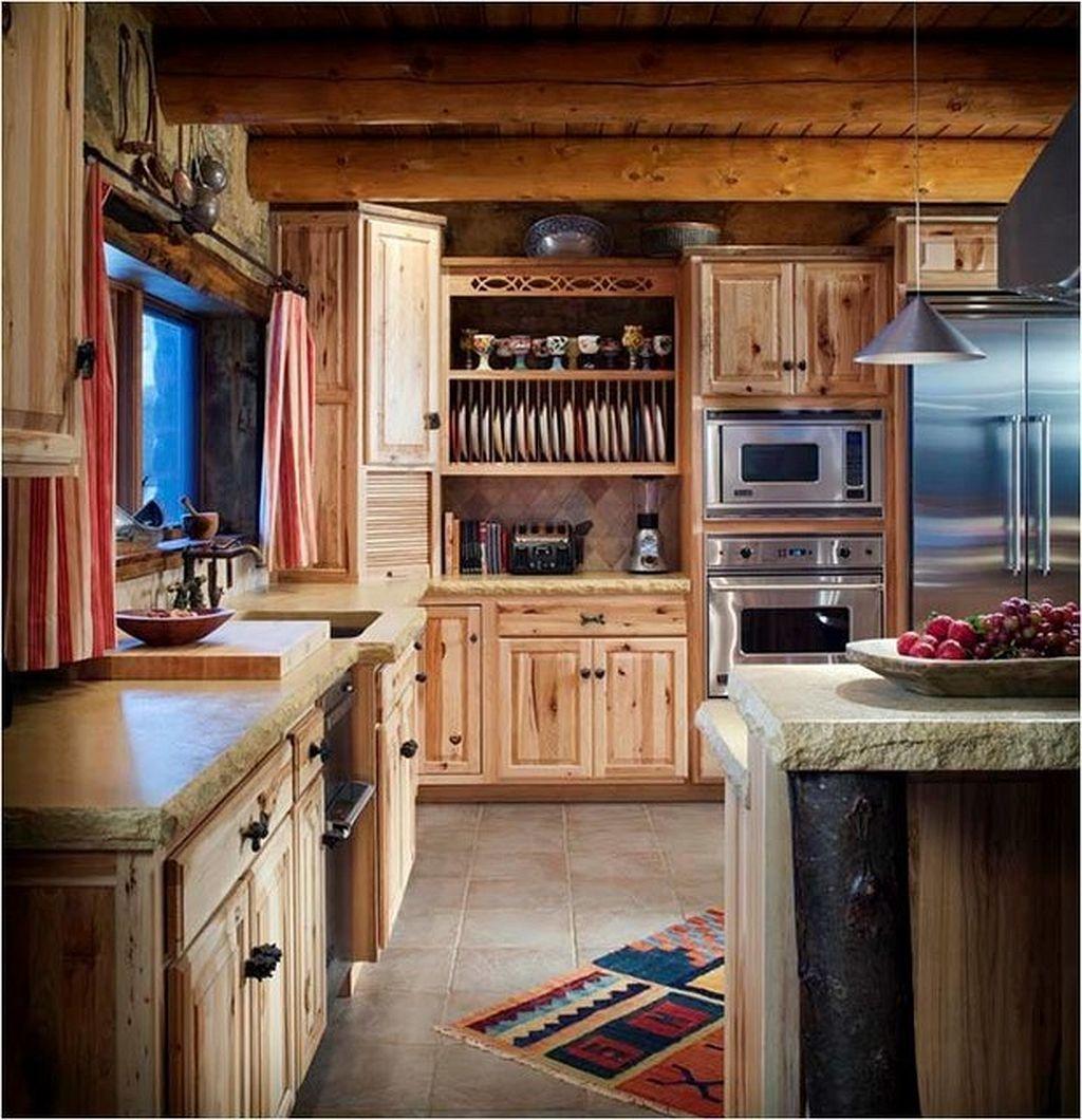 log cabin kitchen ideas log cabin kitchens cabin kitchens and