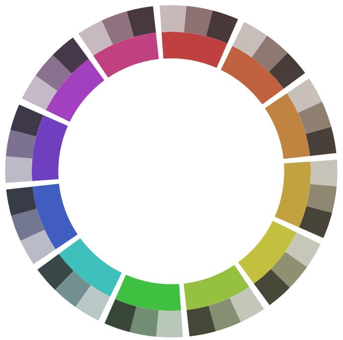 Colour Study Grey Color Plan Interior Design Color Color Studies