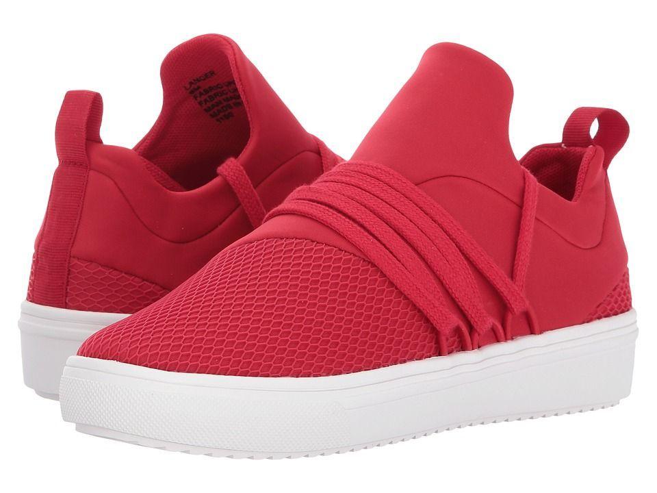 Steve Madden Lancer Women's Shoes Red