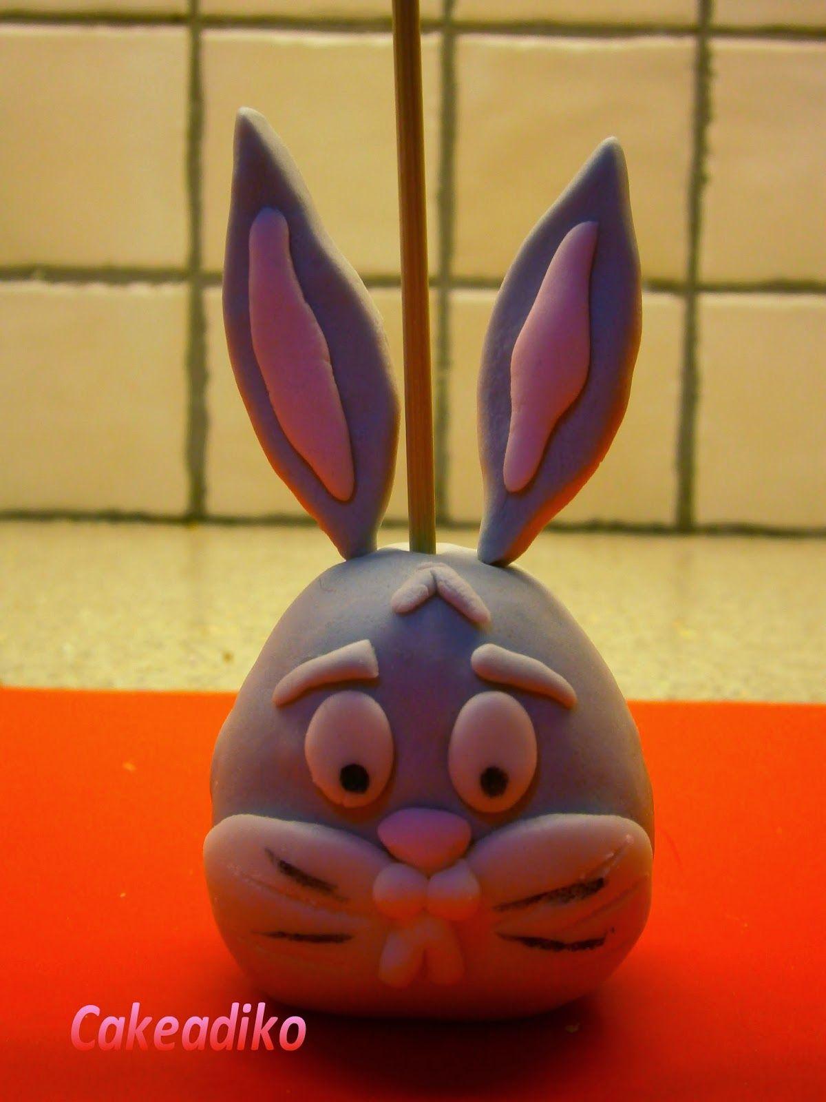 Bugs Bunny Cake Pop