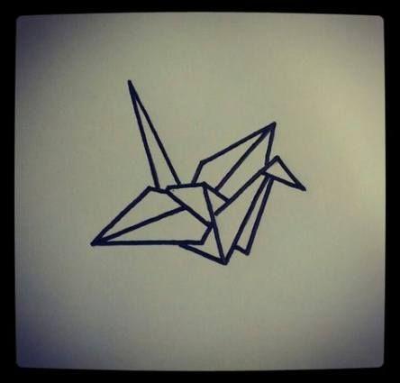New Origami Crane Drawing Birds 45 Ideas