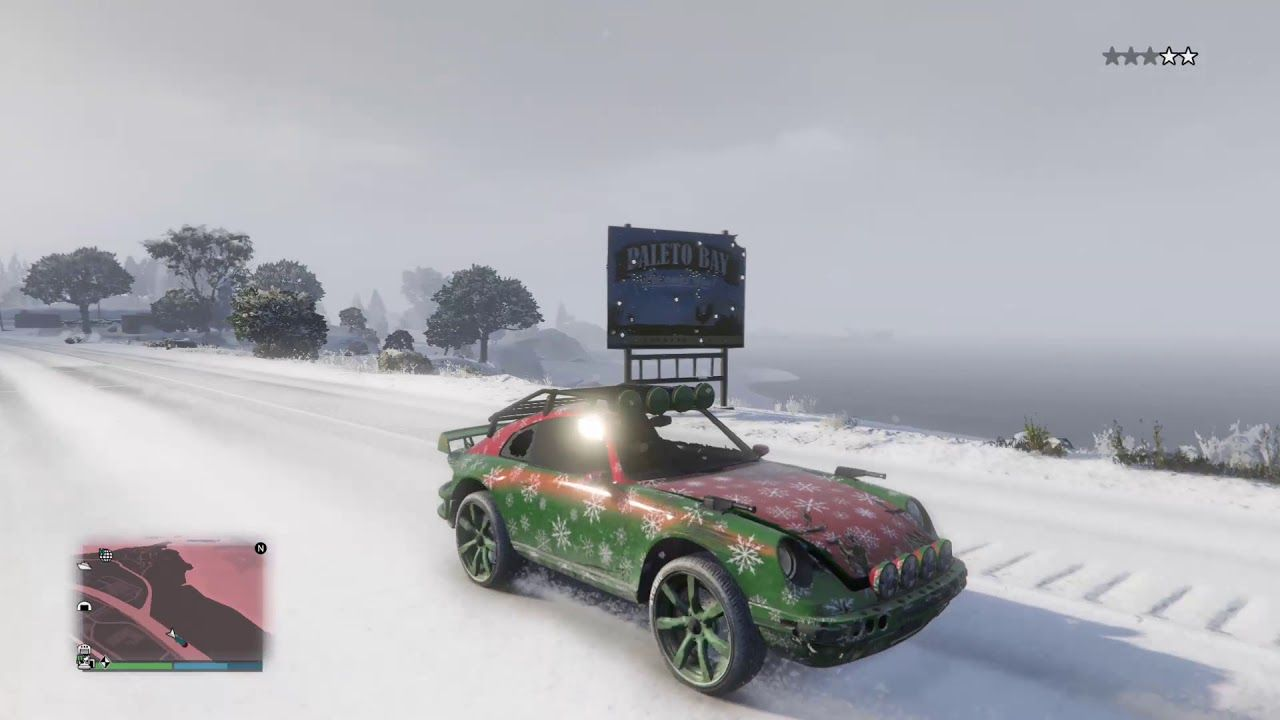 GTA 5 UPGRADED THE FIRST CHRISTMAS CAR OF 2020!!!(CHECK IT OUT) in