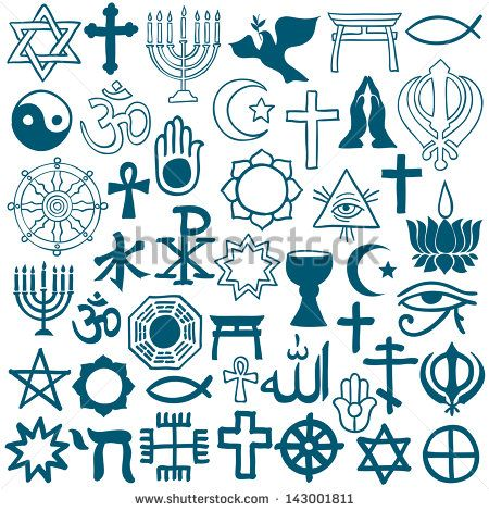 logo of different religions - Google Search | World peace collage ...