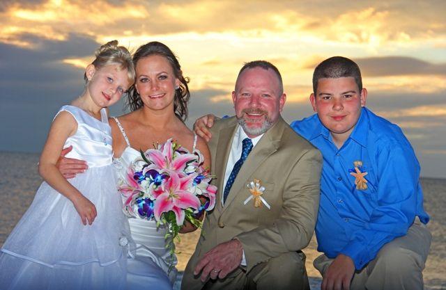 Congratulations Jodi & Brian on your wedding at Sunset Vista's Beach Front Suites, Treasure Island Florida Beach Wedding – http://gulfbeachweddings.com  / http://jeannelauren.com