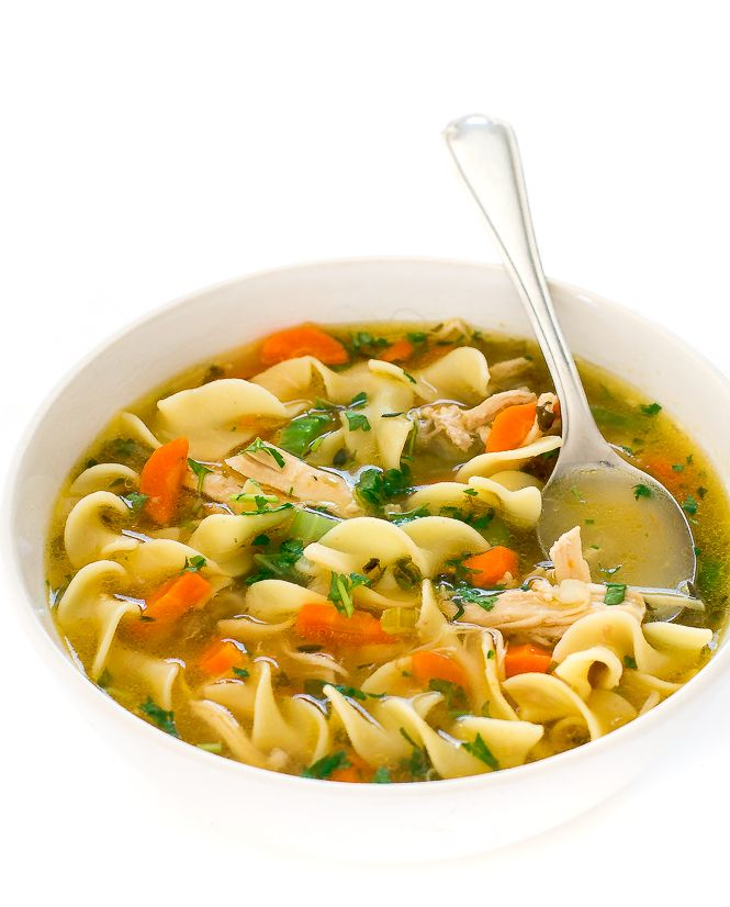 instant pot chicken noodle soup  recipe with images