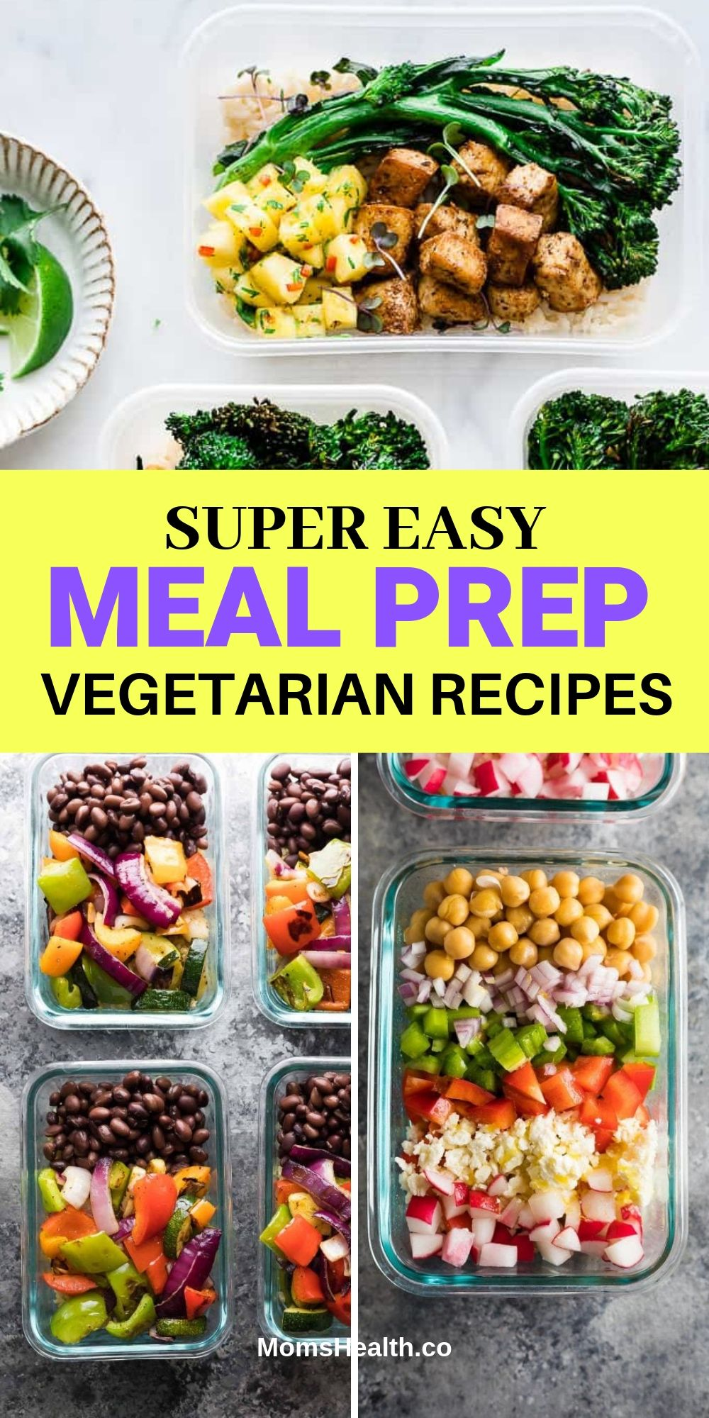 15 Easy and Cheap Vegetarian Meal Prep Recipes for Weight Loss