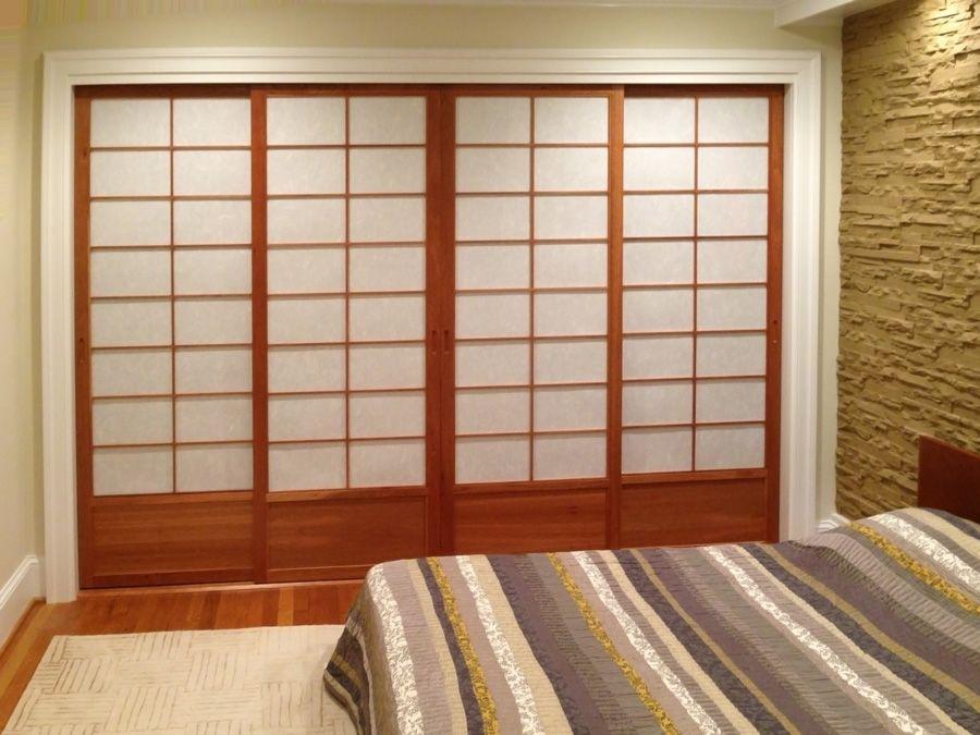 Cherry Tree Design Shoji Closet Doors | Shoji Closet 131 & Cherry Tree Design Shoji Closet Doors | Shoji Closet 131 | Shoji ...
