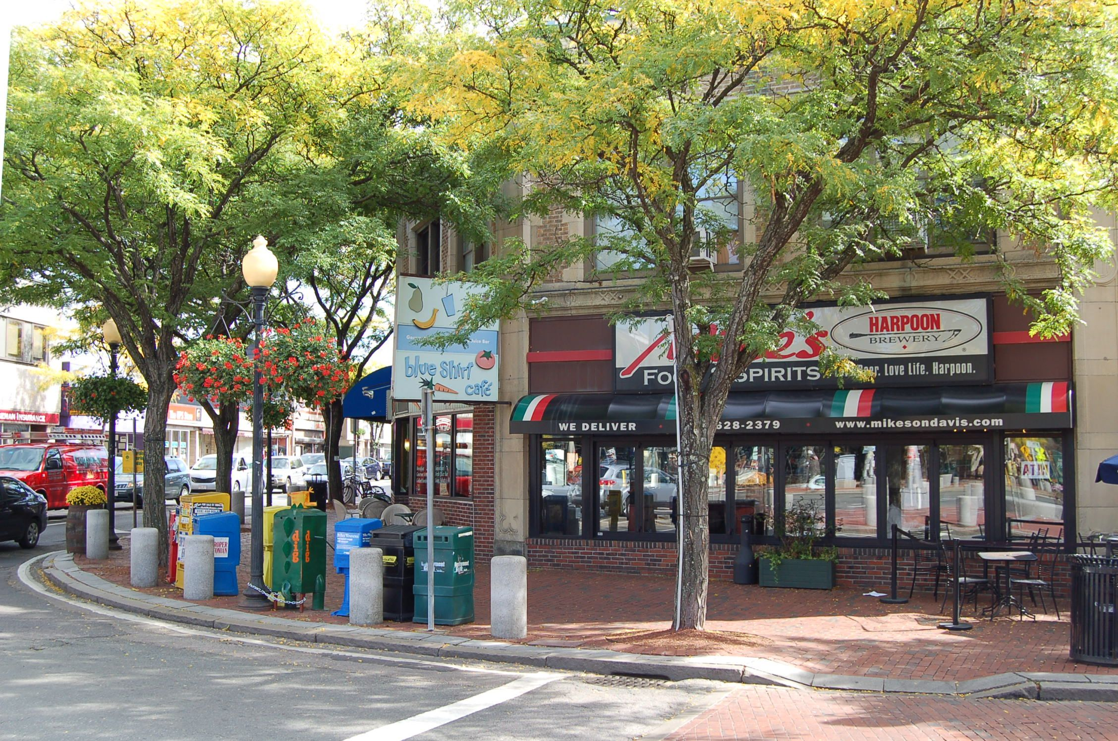 Davis Square, Somerville MA is the home to many restaurants