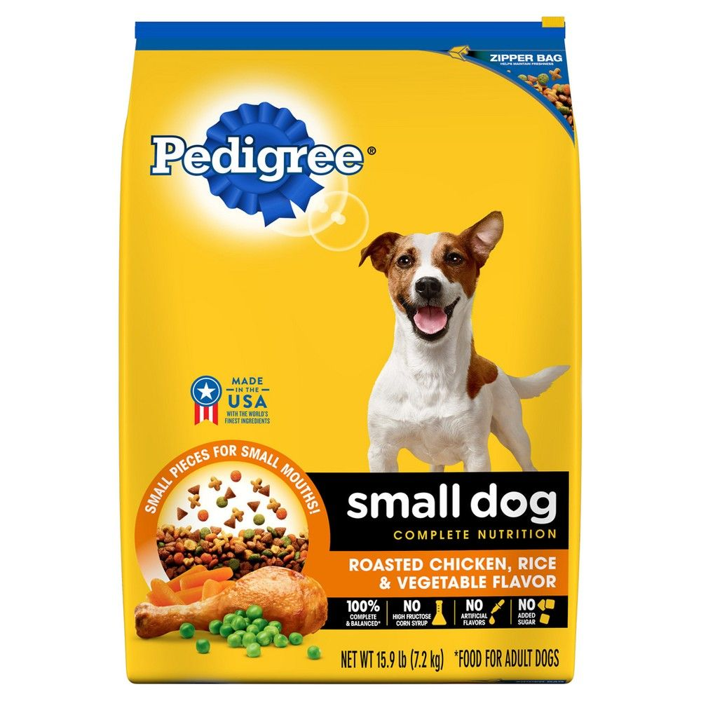 Pedigree Small Breed Food For Adult Dogs Weighing Less Than 25 Lb