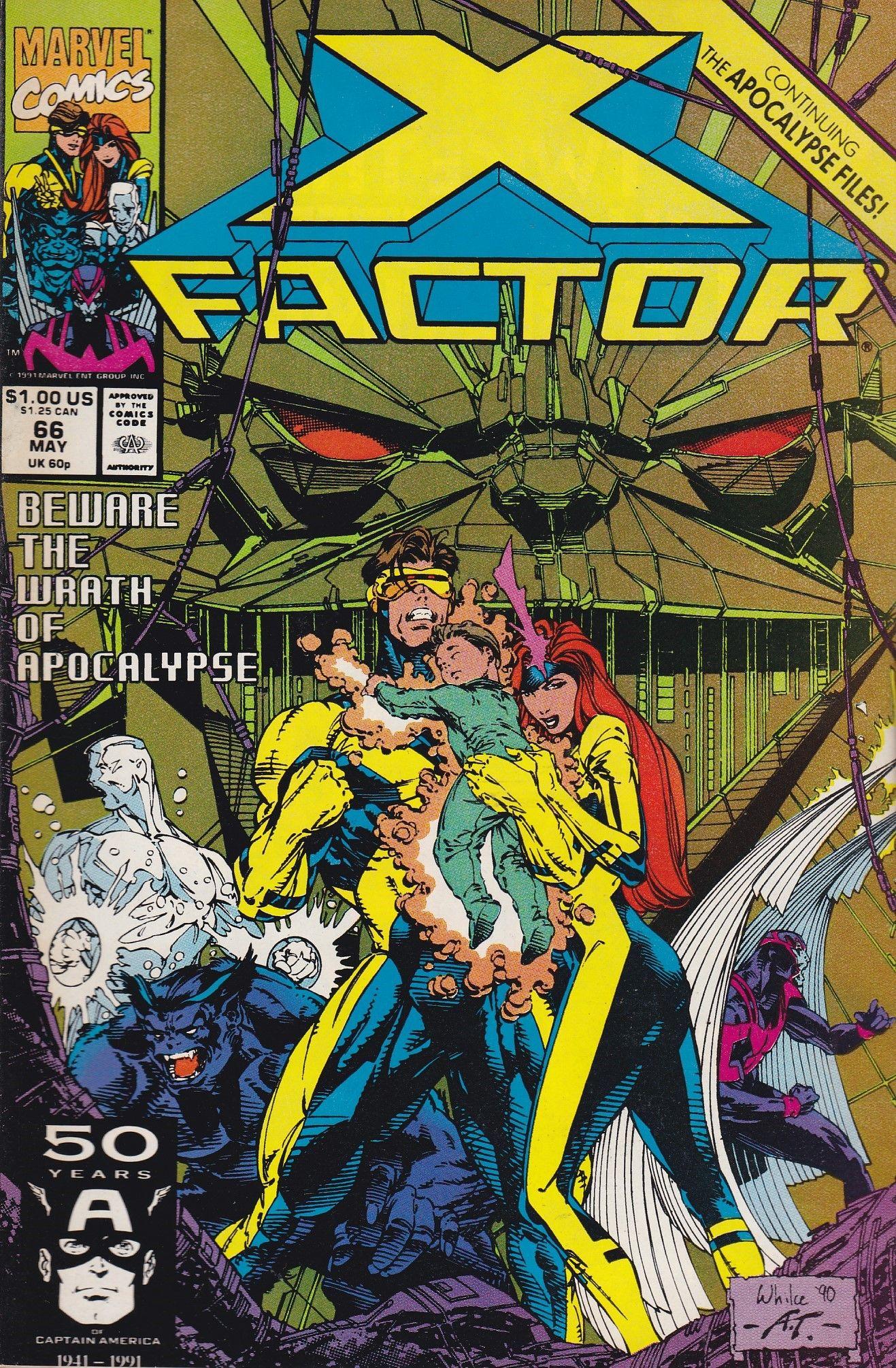 X Factor 66 Marvel Comics Vol 1 With Images Comics Comic Books Marvel Comics Covers