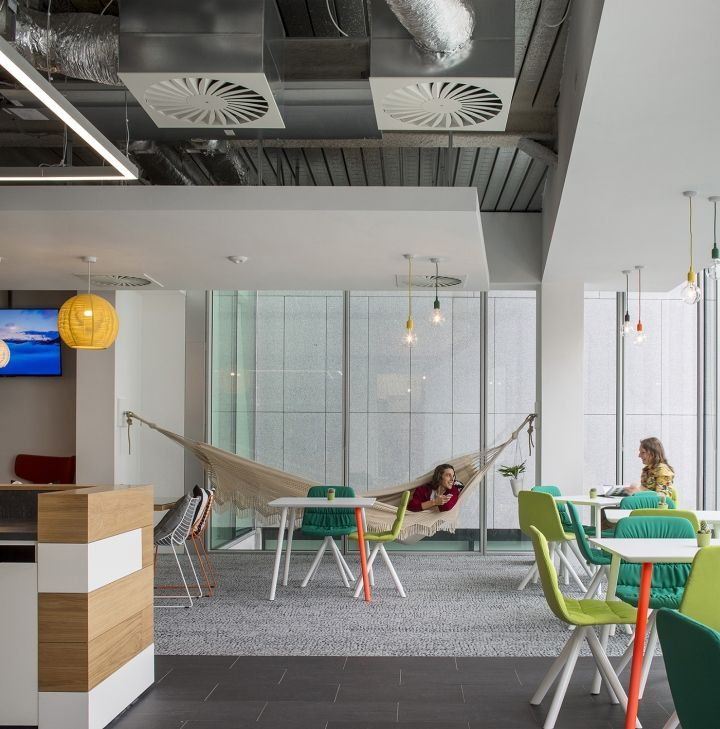 Viccarbe Furniture At Hostelworld Office, Dublin