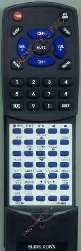 PIONEER Replacement Remote Control for CUDV001, VXX2399, DVL700, DVL90 by Redi-Remote. $51.95. This is a custom built replacement remote made by Redi Remote for the PIONEER remote control number VXX2399. *This is NOT an original  remote control. It is a custom replacement remote made by Redi-Remote*  This remote control is specifically designed to be compatible with the following models of PIONEER units:   CUDV001, VXX2399, DVL700, DVL90  *If you have any concerns with the...