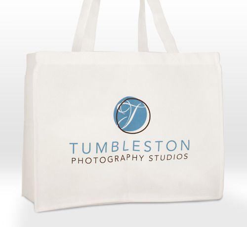 Tumbleston Photography custom printed non-woven tote