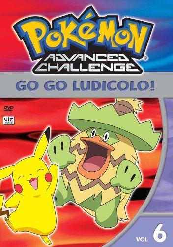 Pokemon Advanced Challenge Vol 6 Go Go Ludicolo Viz