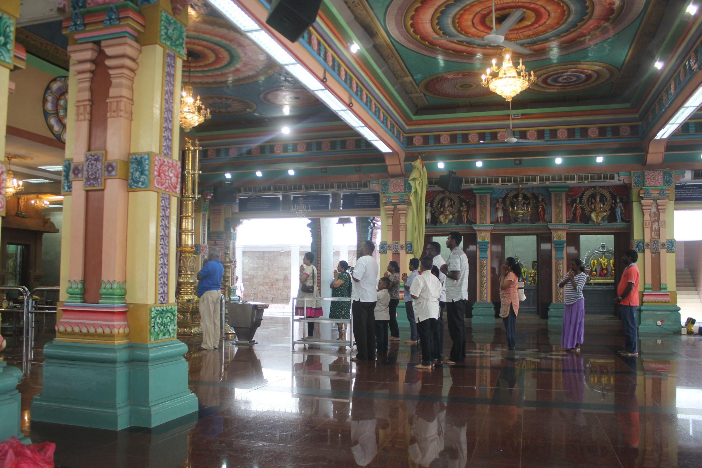 Templo hindu en Kuala Lumpur