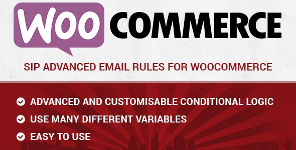 nice SIP Sophisticated E-mail Guidelines for WooCommerce (WooCommerce)