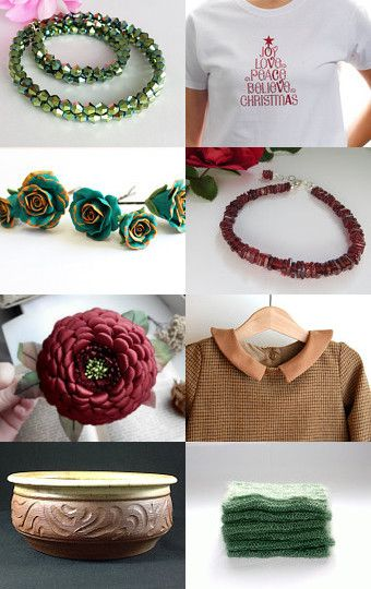 Winter Gifts by Lisa Gossman-Steeves on Etsy--Pinned with TreasuryPin.com
